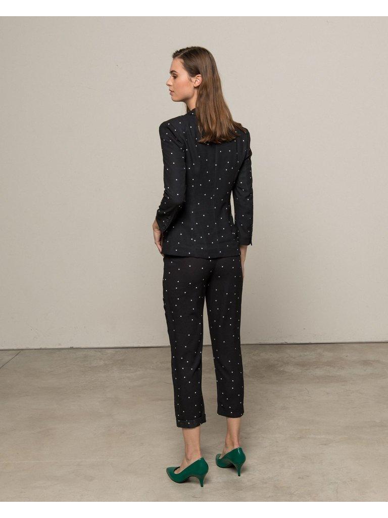 Silvian Heach Silvian Heach Niergui blazer with dots black