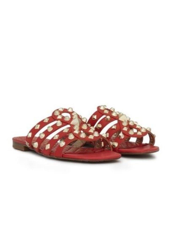 Sam Edelman Sam Edelman Beatris Slide Sandals red with studs