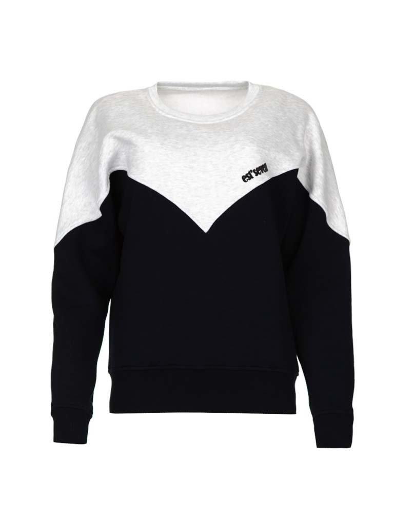 Est'seven Est'Seven Logo sweater black / grey