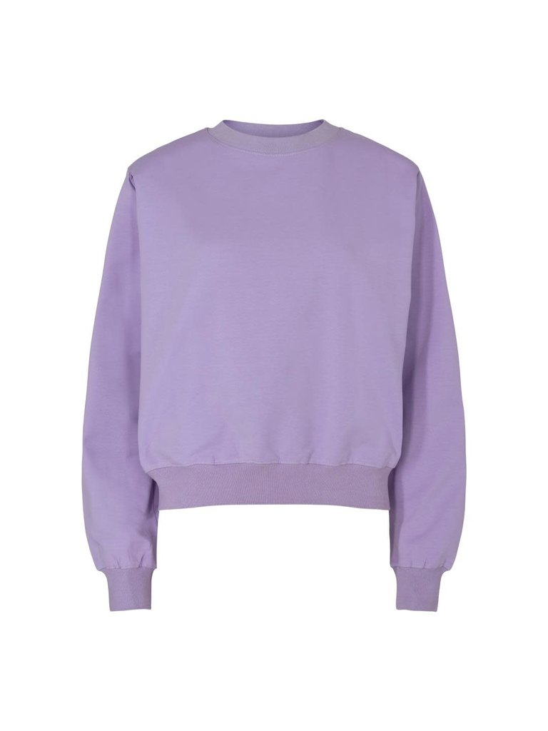Co'couture Co'couture Sean wing sweater paars