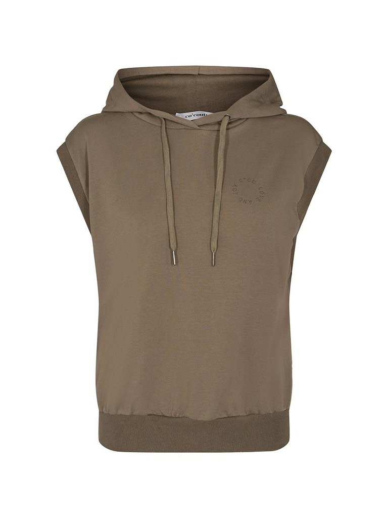 Co'couture Co'couture Rush hoodie vest army