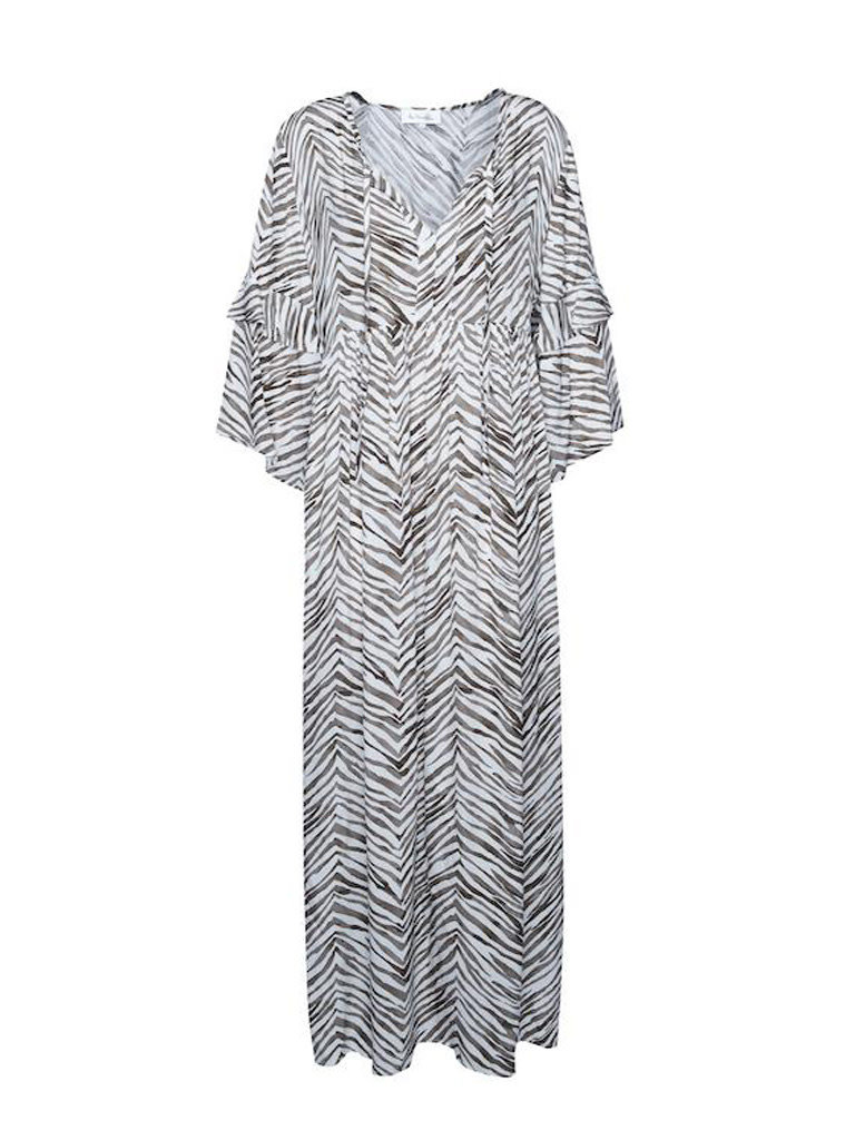 Les Favorites Les Favorites Bella Sebra kaftan jurk