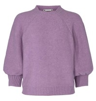 Co'couture Co'couture Ruby knit trui violet