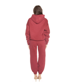 La Sisters LA Sisters Essential sweatpants burgundy