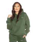 La Sisters LA Sister Essental hoodie groen