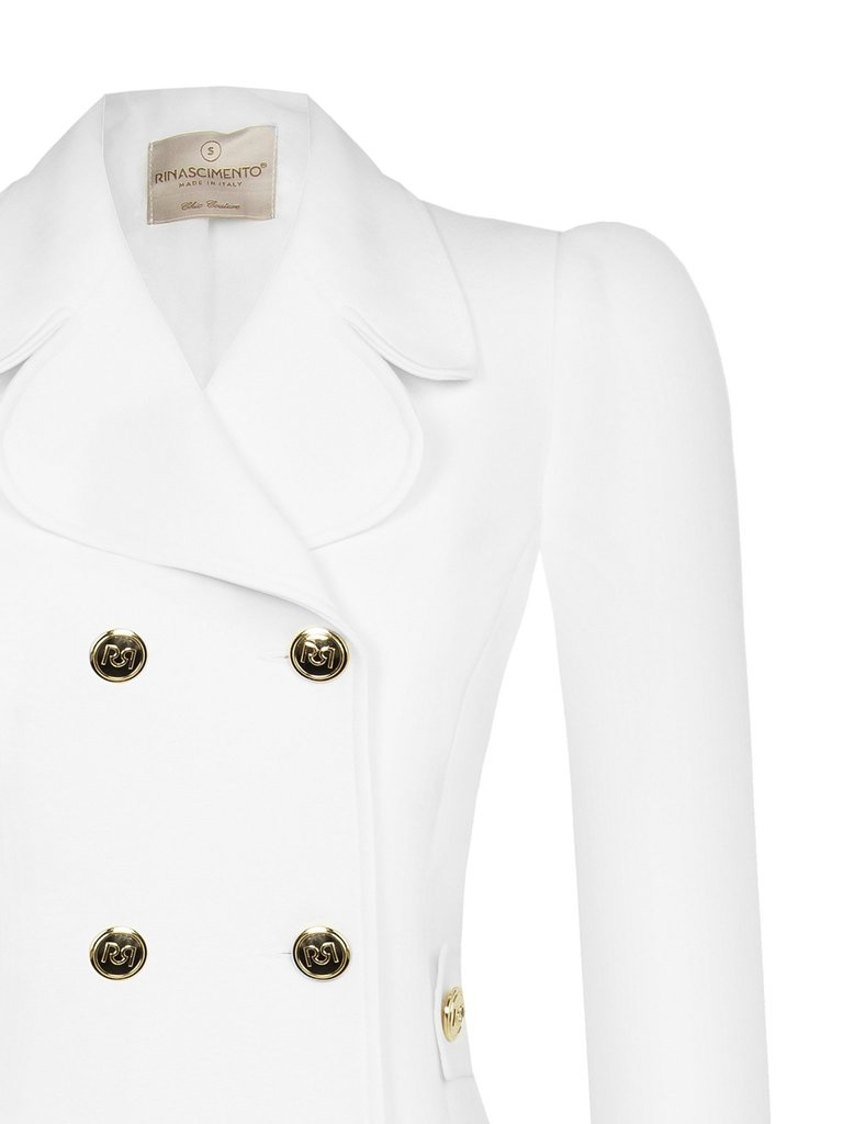Rinascimento Rinascimento lange blazer double-breasted wit