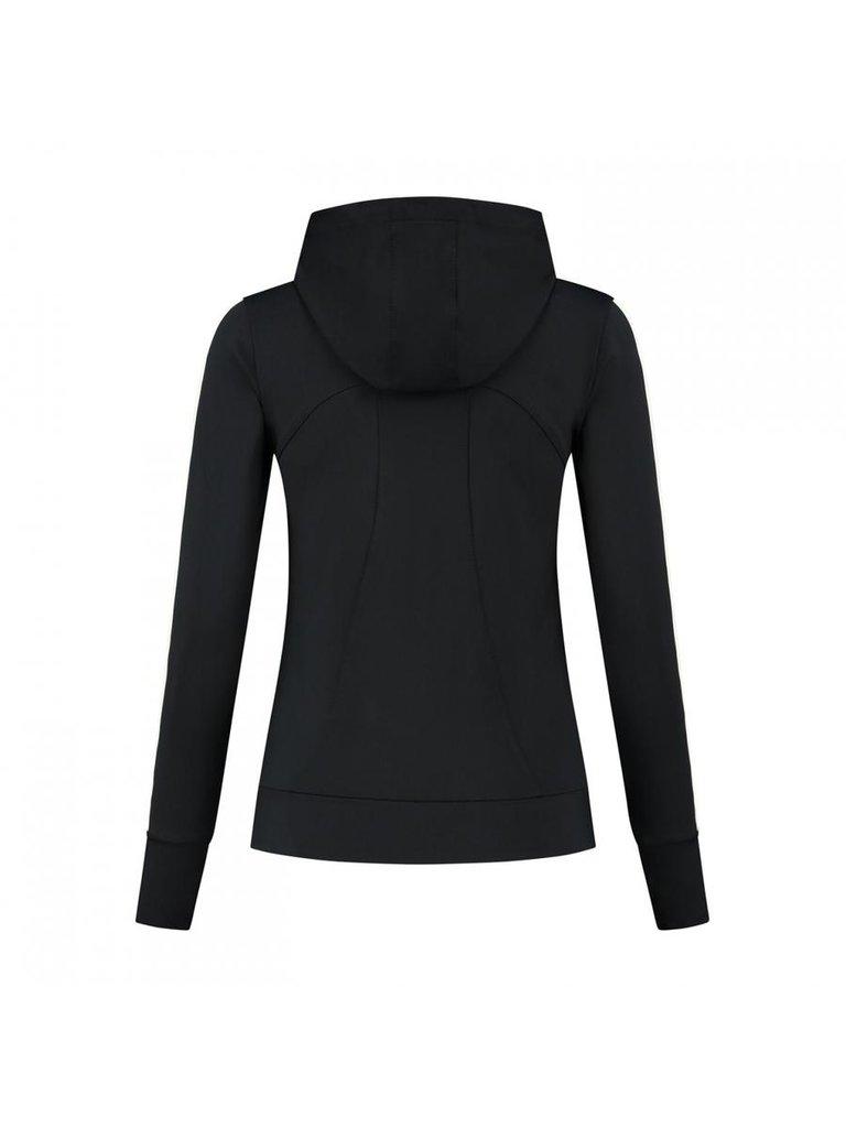 deblon sports Deblon Sports Zoe hooded vest zwart off-white