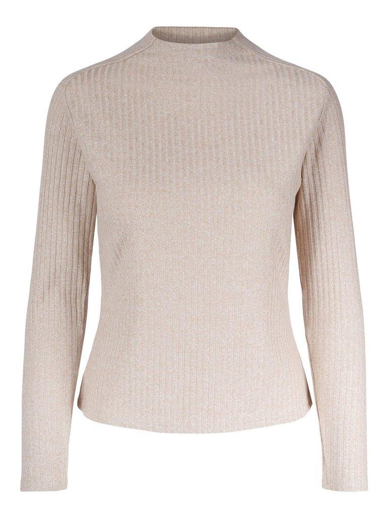 Untold Stories Untold Stories Augusta sweater sand beige melange