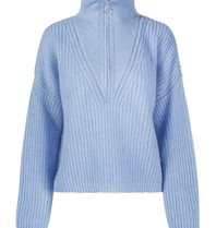 Untold Stories Untold Stories Florie zipped knitted blauw