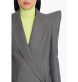 Balmain Balmain Asymmetrisch blazer grijs
