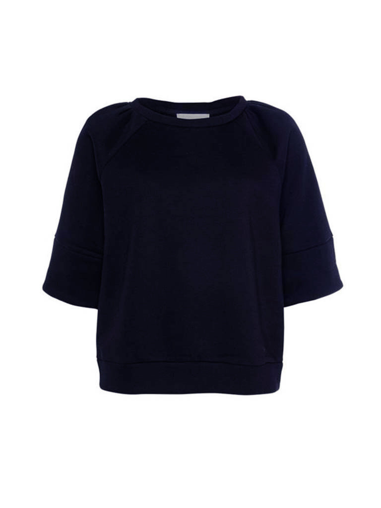 Est'seven Est'seven Roman sweater donkerblauw
