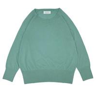 Be You Be You Cashmere silk classic Be Gorgeous trui aquamarine