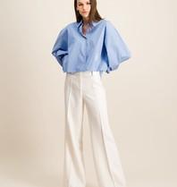 DMN Paris DMN Paris Baby Chloe blouse rayure blauw