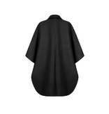 Rinascimento Rinascimento poncho met double-breasted knopen zwart