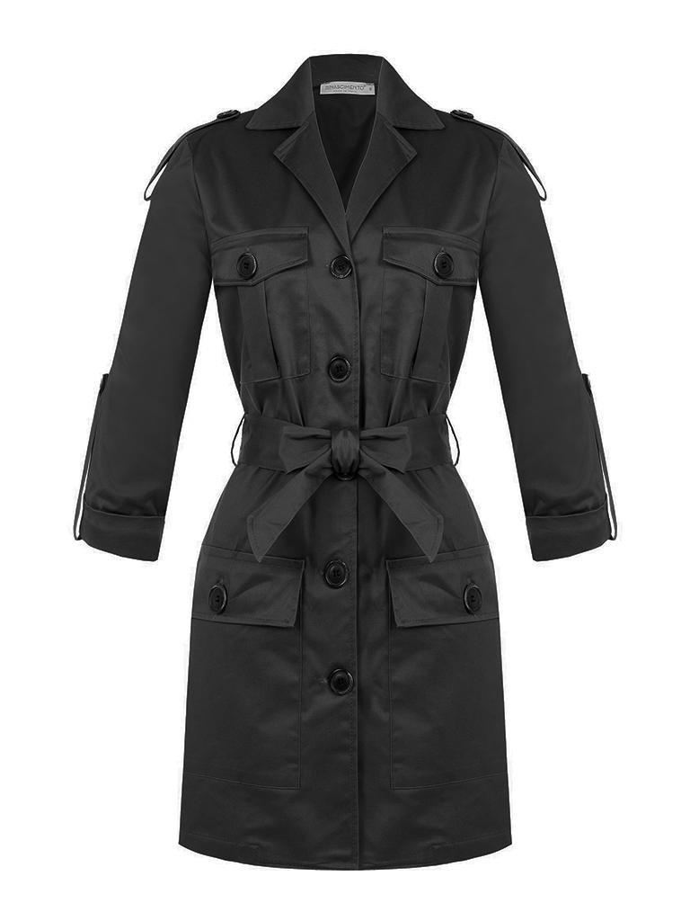Rinascimento Copy of Rinascimento cargo jacket met ceintuur beige