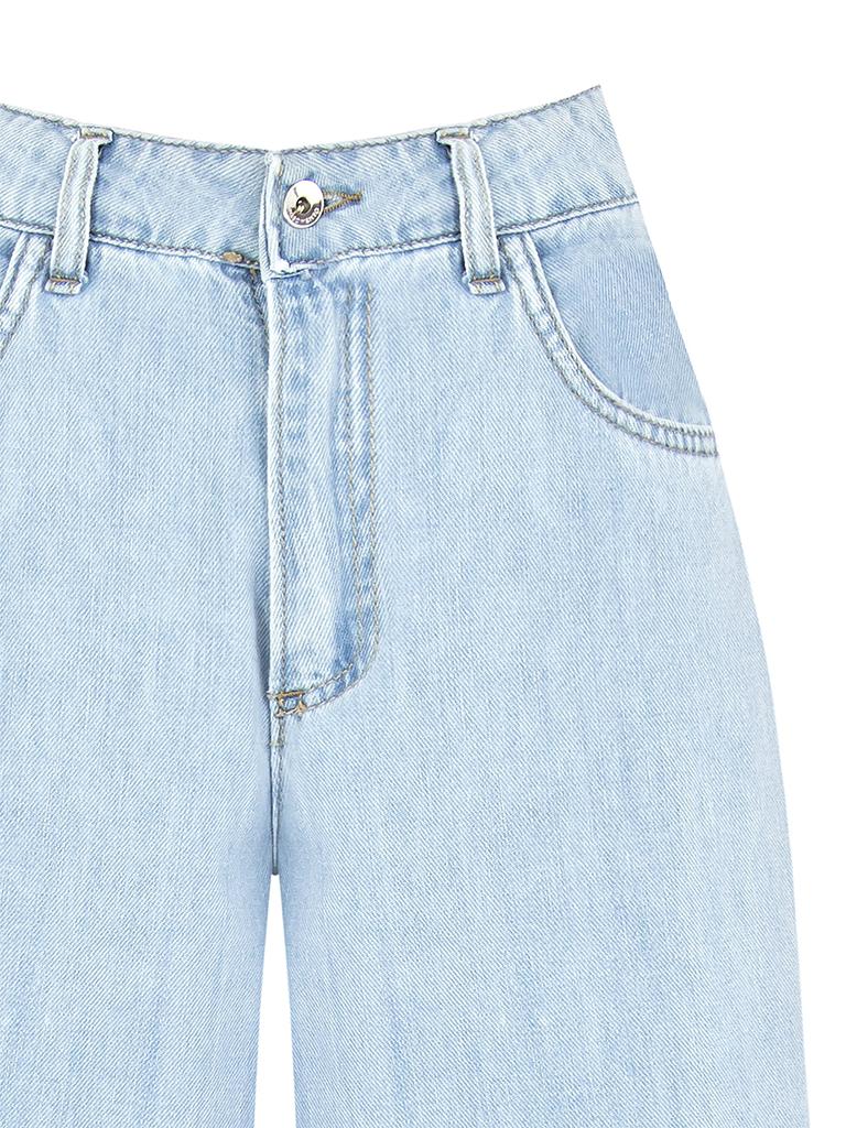 Rinascimento Rinascimento losvallende jeans lichtblauw