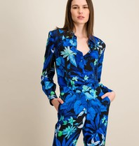 DMN Paris DMN Paris Aline blouse met print palme