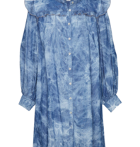 Les Favorites Les Favorites Dolly jeans dress blauw