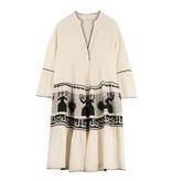 Devotion Devotion midi dress met print type