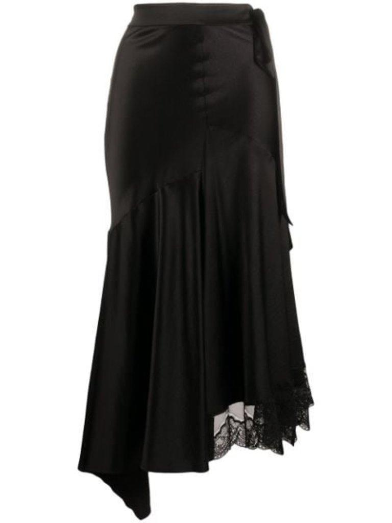 Erika Cavallini Erika Cavallini rok met kant zwart