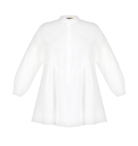 Rinascimento Rinascimento blouse met pof details wit