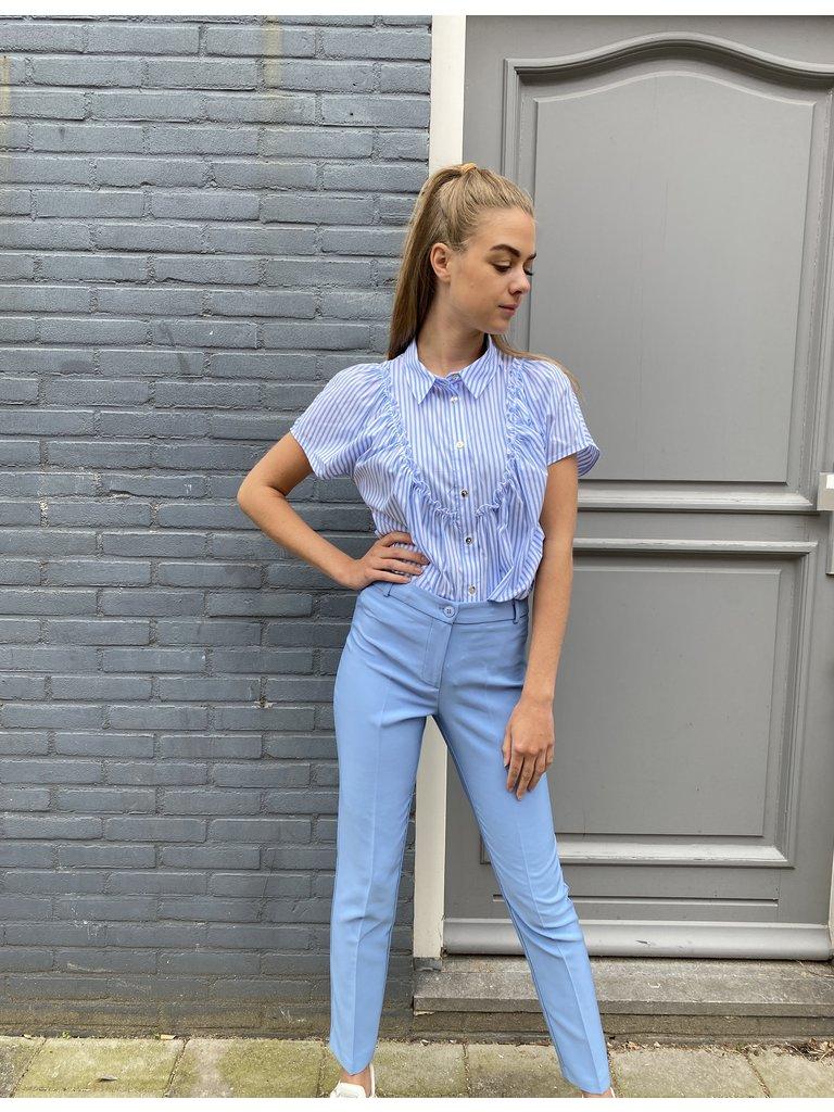 Rinascimento Rinascimento skinny pantalon blauw