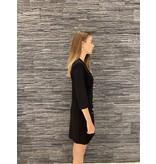 Rinascimento Rinascimento double-breasted jurk zwart