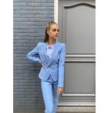 Rinascimento Rinascimento double-breasted blazer blauw