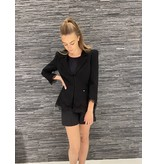 Elisabetta Franchi Elisabetta Franchi blazer with lace black