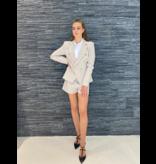 Rinascimento Rinascimento double-breasted blazer beige