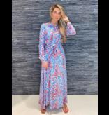 Est'seven Est'Seven Rio maxi jurk met paisley  print multicolour