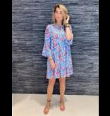 Est'seven Est'Seven Alice jurk met paisley print multicolor