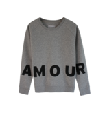 Grey belly Grey belly Amour sweater grijs
