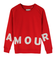Grey belly Grey belly Amour sweater rood
