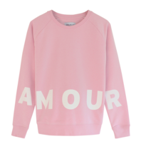 Grey belly Grey belly Amour sweater roze