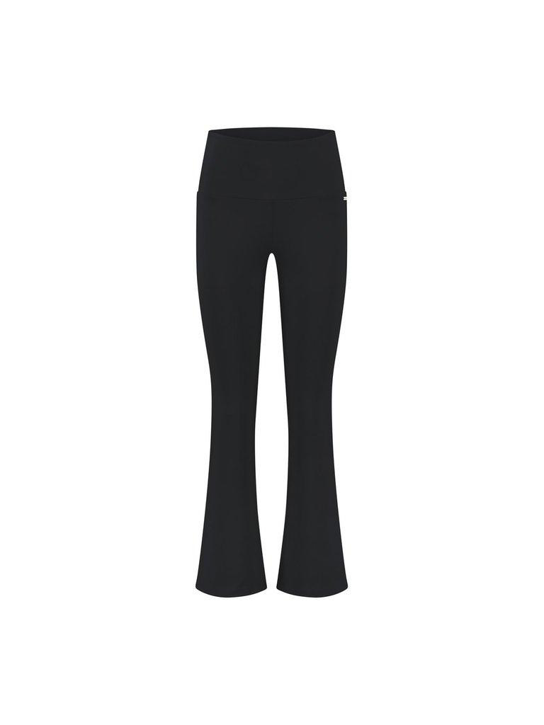 deblon sports Deblon SportsDeblon Sports Celine cropped flared leggings zwart