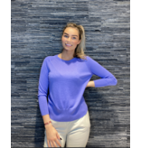 Be You Be You cashmere silk classic Be Gorgeous trui lavandel