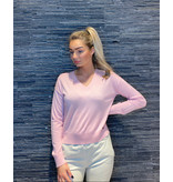 Be You Be You Cashmere cropped Be Stylish trui roze