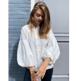 Co'couture Co'couture Keeva frill blouse wit