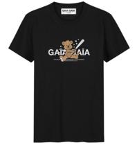 GAÏA GAÏA Gaïa Gaïa bear loose t-shirt zwart