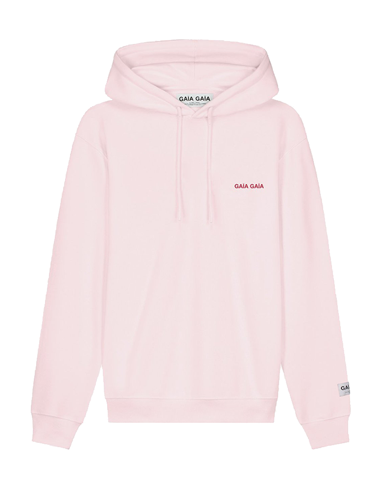 GAÏA GAÏA Gaïa Gaïa oversized hoodie soft pink