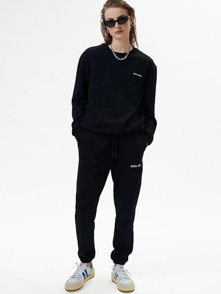 GAÏA GAÏA Gaïa Gaïa oversized sweatpants zwart