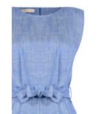Rinascimento Rinascimento denim playsuit met ceintuur blauw
