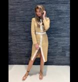 Elisabetta Franchi Elisabetta Franchi Cropped blazer camel