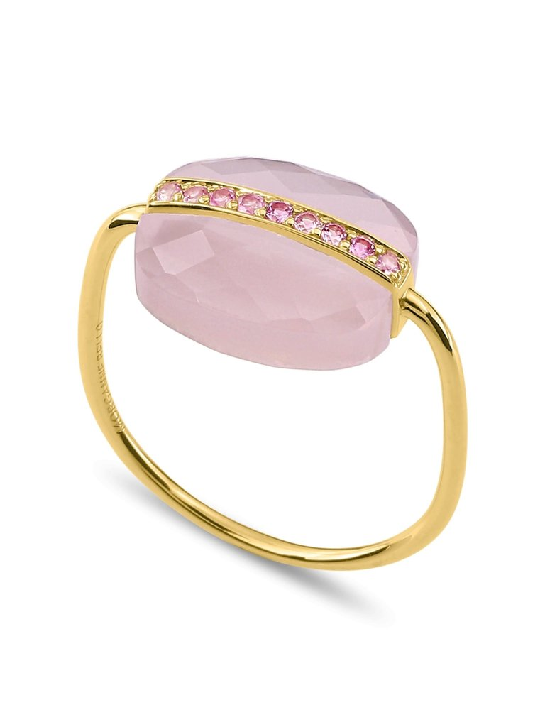 Morganne Bello Morganne Bello Aurora ring roze goud