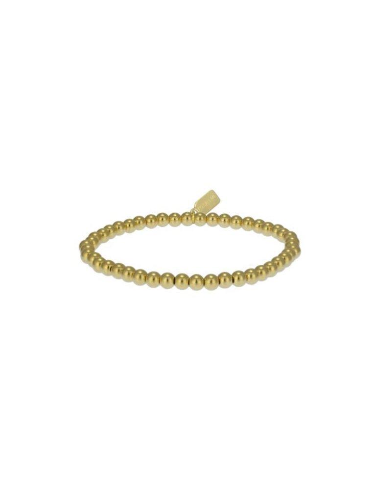 Pscallme Pscallme Basic Gold Coloured 4mm armband