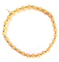 Pscallme Pscallme Wings Peach Gold coloured armband