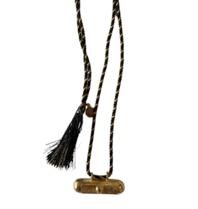 Pscallme Pscallme Prayerbox heart plain black goldplated ketting