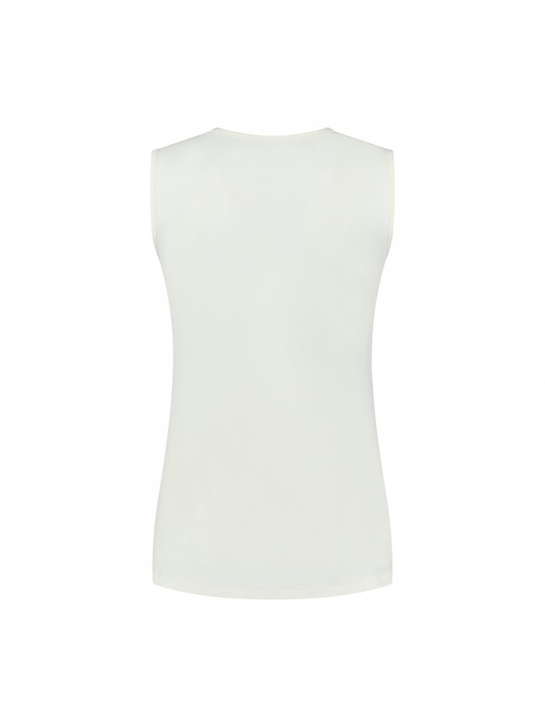 deblon sports Deblon Sports Jackie sleeveless logo top wit