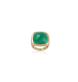 Pscallme Pscallme Ring stone smaragd goldplated